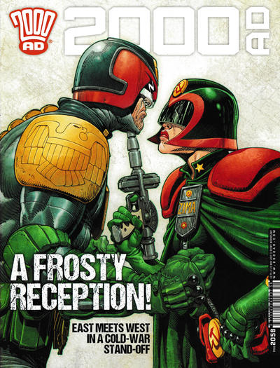 Cover for 2000 AD (Rebellion, 2001 series) #2058