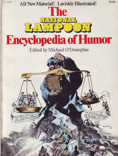 Cover for The National Lampoon Encyclopedia of Humor (21st Century / Heavy Metal / National Lampoon, 1973 series)