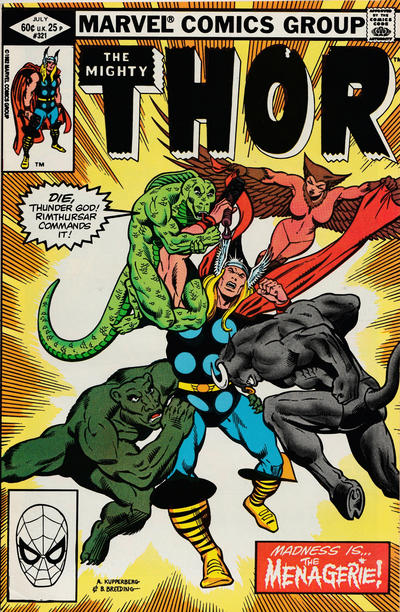 Cover for Thor (Marvel, 1966 series) #321 [Newsstand]