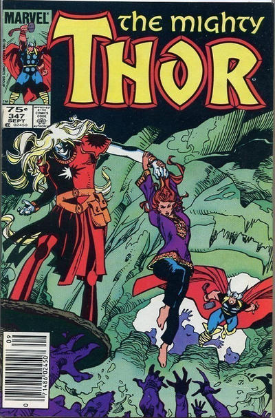 Cover for Thor (Marvel, 1966 series) #347 [Canadian]