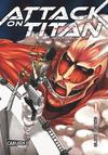 Cover for Attack on Titan (Carlsen Comics [DE], 2014 series) #1