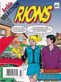Cover Thumbnail for Sélection Rions C'est L'Heure (Editions Héritage, 1975 ? series) #847
