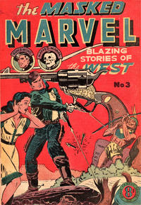 Cover Thumbnail for The Masked Marvel (Atlas, 1953 ? series) #3