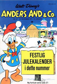 Cover Thumbnail for Anders And & Co. (Egmont, 1949 series) #47/1971