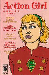 Cover Thumbnail for Action Girl Comics (Slave Labor, 1994 series) #3 [2nd Printing]