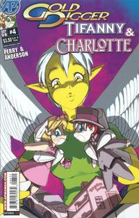 Cover Thumbnail for Gold Digger: Tifanny & Charlotte (Antarctic Press, 2008 series) #4