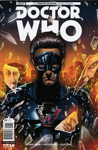 Cover Thumbnail for Doctor Who: Ghost Stories (Titan, 2017 series) #1 [Cover A - Mariano Laclaustra]