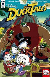 Cover Thumbnail For DuckTales IDW 2017 Series 6