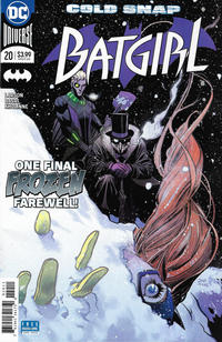 Cover Thumbnail for Batgirl (DC, 2016 series) #20 [Dan Mora Cover]