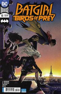Cover Thumbnail for Batgirl & the Birds of Prey (DC, 2016 series) #18 [Kamome Shirahama Cover]