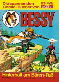 Cover for Bessy (Bastei Verlag, 1982 series) #5