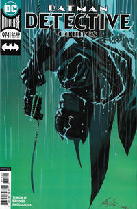 Cover Thumbnail for Detective Comics (DC, 2011 series) #974 [Rafael Albuquerque Variant]