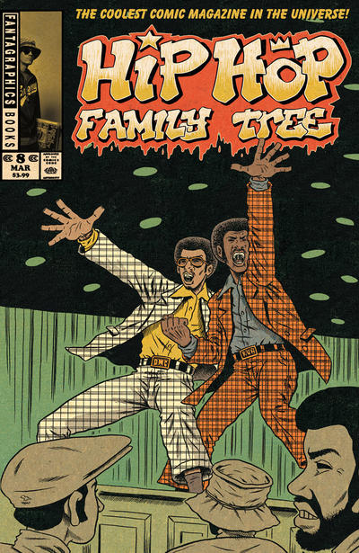 Cover for Hip Hop Family Tree (Fantagraphics, 2015 series) #8