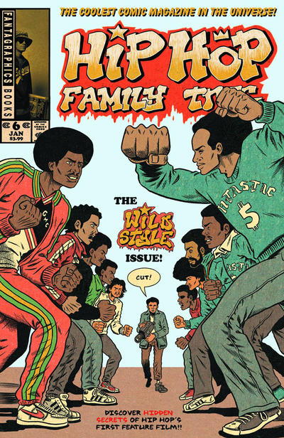 Cover for Hip Hop Family Tree (Fantagraphics, 2015 series) #6 [Regular Edition]