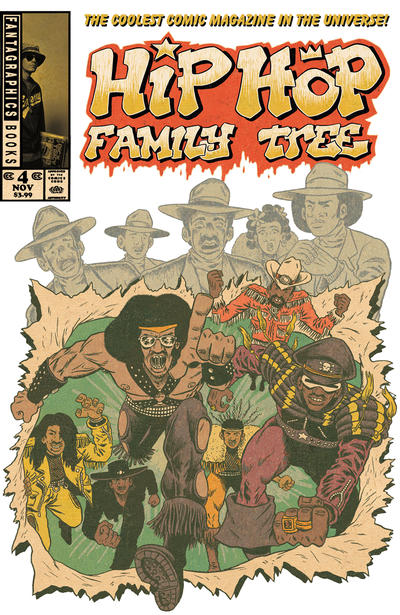 Cover for Hip Hop Family Tree (Fantagraphics, 2015 series) #4