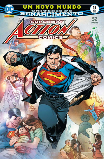 Cover for Action Comics (Panini Brasil, 2017 series) #11