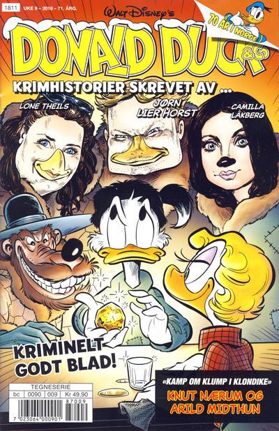 Cover for Donald Duck & Co (Hjemmet / Egmont, 1948 series) #9/2018