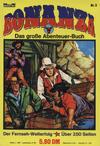 Cover for Bonanza - Das große Abenteuer-Buch (Bastei Verlag, 1975 ? series) #3