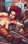 Cover for Belladonna: Fire and Fury (Avatar Press, 2017 series) #2 [Repose Wraparound Nude Cover]