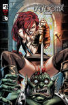 Cover Thumbnail for Belladonna: Fire and Fury (2017 series) #3 [Impaled Nude Cover]