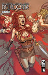 Cover Thumbnail for Belladonna: Fire and Fury (2017 series) #4 [Matt Martin Shield Maiden Cover]