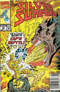 Cover Thumbnail for Silver Surfer (Marvel, 1987 series) #65 [Newsstand]
