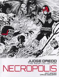 Cover Thumbnail for Judge Dredd: The Mega Collection (Hachette Partworks, 2015 series) #5 - Necropolis