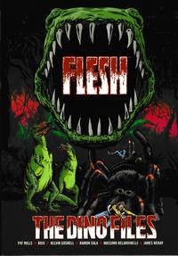 Cover Thumbnail for Flesh: The Dino Files (Rebellion, 2017 series)