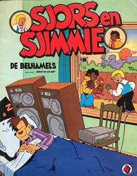 Cover Thumbnail for Sjors en Sjimmie (Oberon, 1977 series) #4 - De belhamels [Eerste druk (1979)]