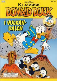 Cover Thumbnail for Klassisk Donald Duck (Hjemmet / Egmont, 2016 series) #11 - Donald Duck i Vulkandalen