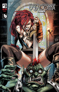 Cover Thumbnail for Belladonna: Fire and Fury (Avatar Press, 2017 series) #3 [Impaled Cover]