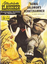 Cover Thumbnail for Illustrierte Klassiker [Classics Illustrated] (Norbert Hethke Verlag, 1991 series) #28 - König Salomon's Schatzkammer