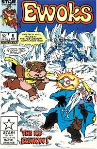 Cover Thumbnail for The Ewoks (Marvel, 1985 series) #6 [Direct]