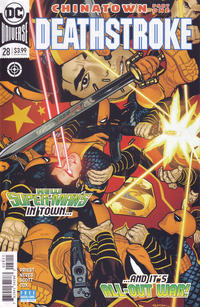 Cover Thumbnail for Deathstroke (DC, 2016 series) #28