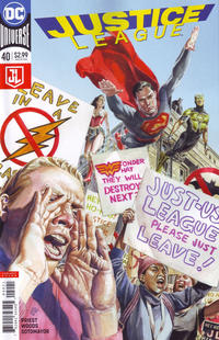 Cover Thumbnail for Justice League (DC, 2016 series) #40 [J. G. Jones Cover]