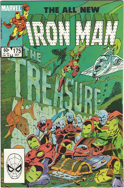 Cover for Iron Man (Marvel, 1968 series) #175 [Direct]