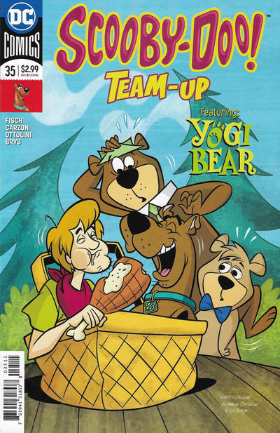 Cover for Scooby-Doo Team-Up (DC, 2014 series) #35