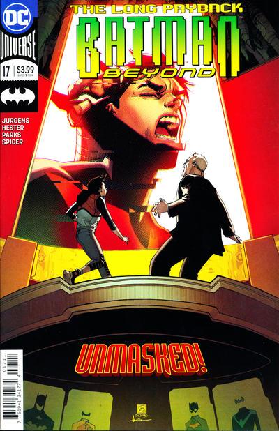 Cover for Batman Beyond (DC, 2016 series) #17