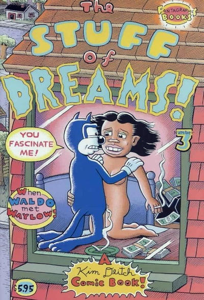 Cover for Stuff of Dreams (Fantagraphics, 2002 series) #3