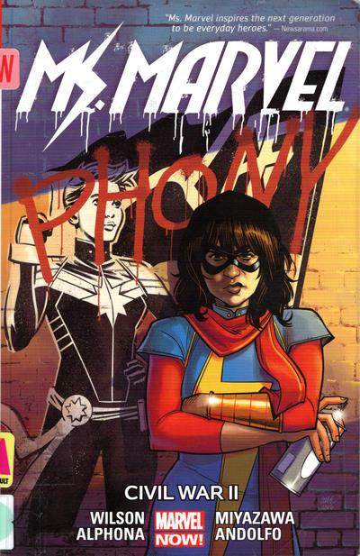 Cover for Ms. Marvel (Marvel, 2014 series) #6 - Civil War II