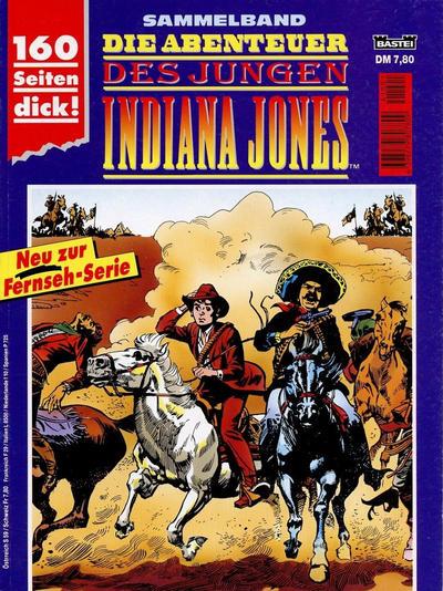 Cover for Die Abenteuer des jungen Indiana Jones Sammelband (Bastei Verlag, 1994 ? series)