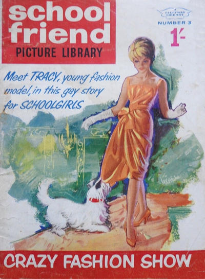 Cover for School Friend Picture Library (Amalgamated Press, 1962 series) #3