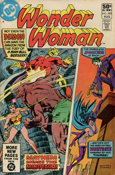Cover for Wonder Woman (DC, 1942 series) #282 [Direct]