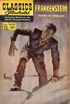 Cover for Classics Illustrated (Gilberton, 1947 series) #26 [HRN 146] - Frankenstein [HRN 166]