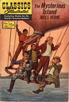 Cover for Classics Illustrated (Gilberton, 1947 series) #34 - Mysterious Island [HRN 156 - Painted Cover]