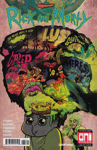 Cover for Rick and Morty (Oni Press, 2015 series) #35 [Cover A - Marc Ellerby]