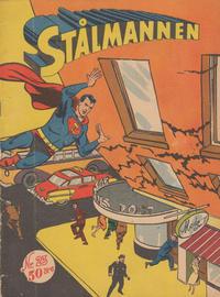Cover Thumbnail for Stålmannen (Centerförlaget, 1949 series) #23/1955