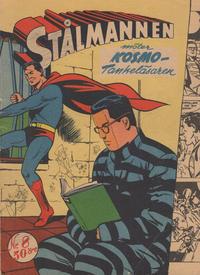 Cover Thumbnail for Stålmannen (Centerförlaget, 1949 series) #8/1956