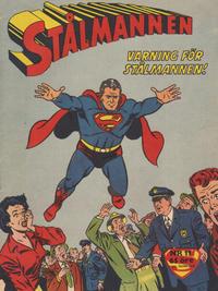 Cover Thumbnail for Stålmannen (Centerförlaget, 1949 series) #11/1960
