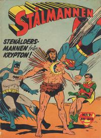 Cover for Stålmannen (Centerförlaget, 1949 series) #9/1959